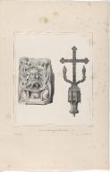 Croix en bois et Ecce homo en albûtre (Temple de Vallanes) (Islande)