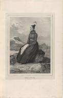Málfridur (Frida) Swinsdóttir, Jeune fille de Reykiavik en costume de cérémonie. (Islande)