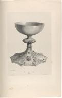 Calice de l'Eglise de à Skálholt. Cuillers en corne scuptée (Islande.)