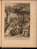 The Indians delivering up the English Captives to Colonel Bouquet near his Camp at the Forks of Muskingum in North America in Novr. 1764.