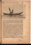 [Native American paddling a kayak]