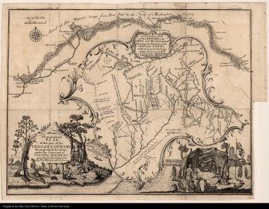 A Topographical Plan of that part of the Indian=Country through which the Army under the Command of Colonel Bouquet marched in the year 1764 by Thos. Hutchins Asst. Engineer