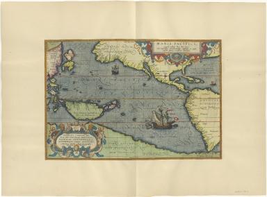 Maris Pacifici, (quod vulgò Mar del Zur) cum regionisbus circumiacentibus, insulisque in eodem passim sparsis, novissima descriptio.