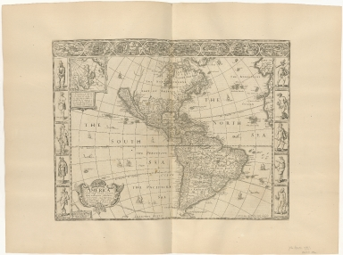America with those known parts in that unknowe worlde both people and manner of buildings Discribed and inlarged by I. S. Anno 1626
