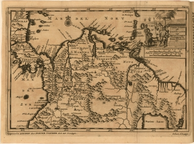 Terra Firma oft Vasteland van Darien Veragua Cartagena en Nieuw Andalusie etc.