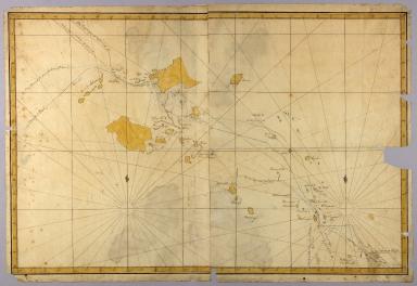[Map of the Fiji Islands]