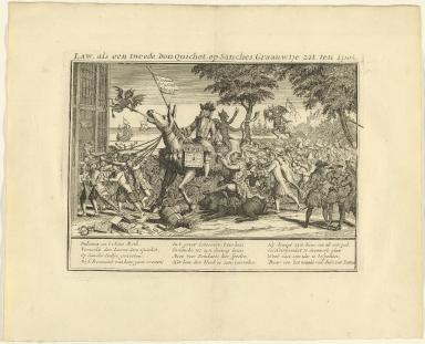Law, als een tweede Don-Quichot, op Sanches graauwtje zit ten spot.