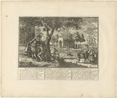 De verreeze Frederik Hendrik ouwerwets patroon der verkeerde barmhertigheid &c. &c. &c.