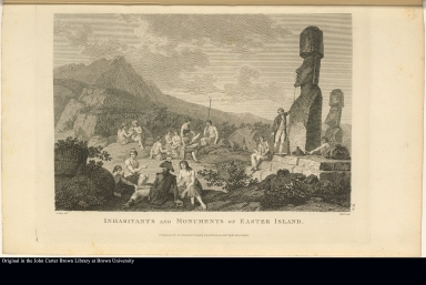 Inhabitants and Monuments of Easter Island.
