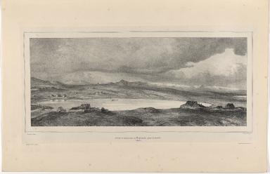 2me. vue en Panorama de Reykiavik, prise du moulin (Islande)