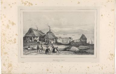 Cabanes de Pêcheurs à Reykiavik. (Islande.)