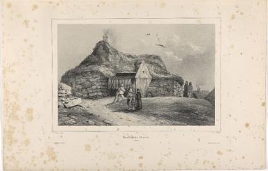 Maison de Pêcheur à Reykiavik. (Islande.)