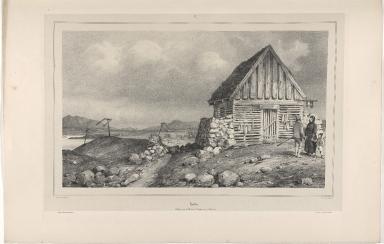 Hiallur. Sechoir pour le Poison à Reykiavik. (Islande)