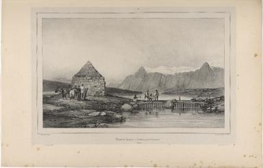 Pêcheurie de Saumons à Árhólmar, près de Reykiavík. (Islande.)