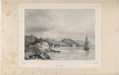 Port de Hafnarfiordur. (Islande.)