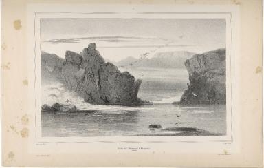 Partie de l'Almannagjá à Thingvellir. (Islande.)