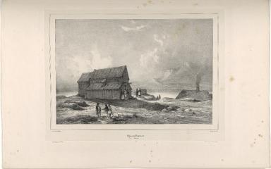 Eglise de Skalholt. (Islande.)