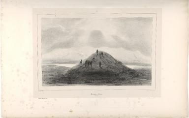 Tumulus à Teigur. (Islande.)