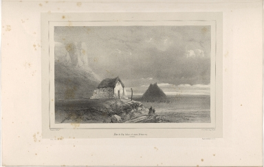 Baer de Ey-hólar et mont Péturs-ey. (Islande.)