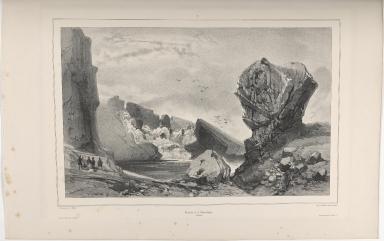 Cascade de l'Almannagjá. (Islande.)