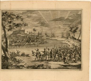 [Captain Gosnold's men meet native Americans]