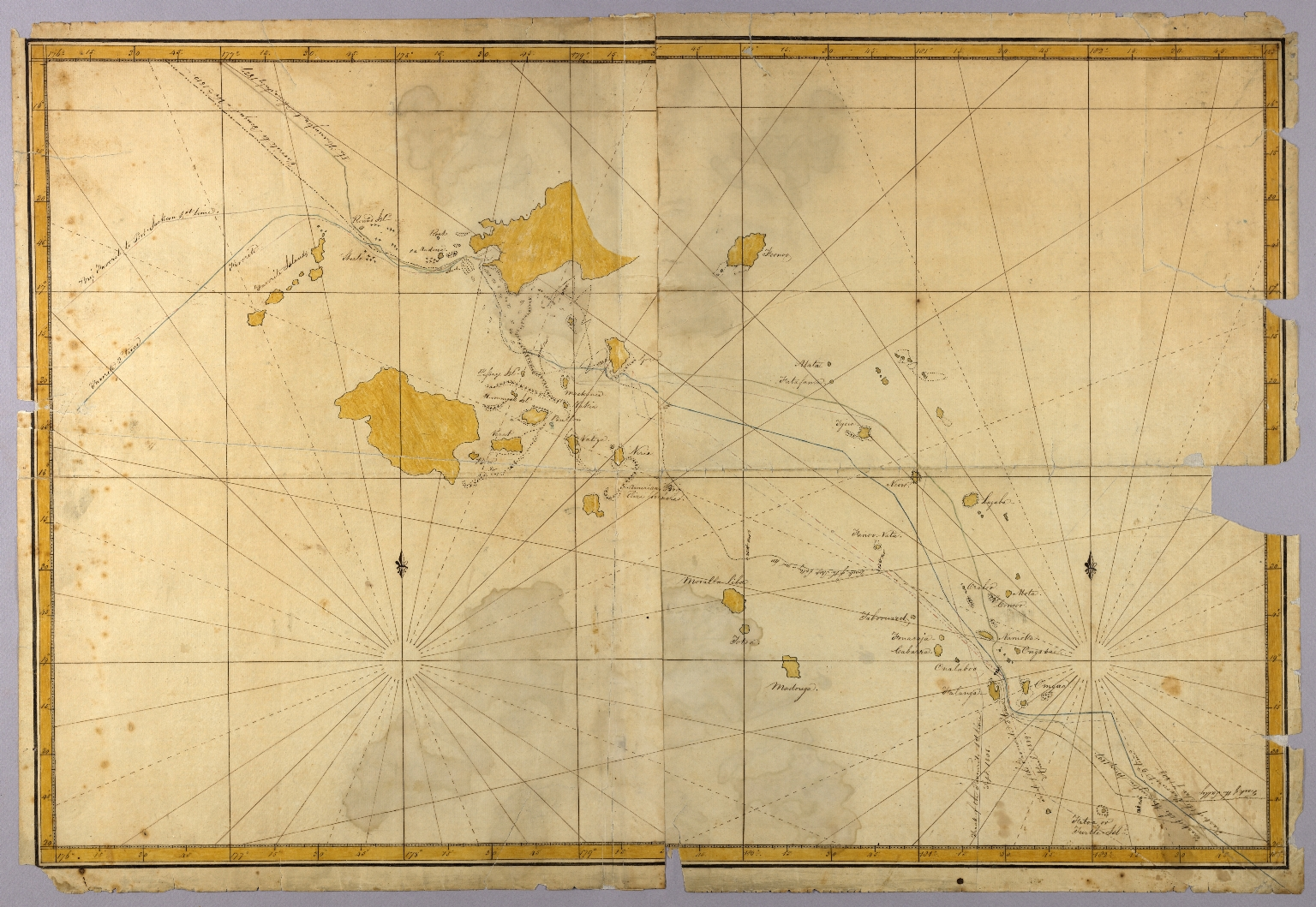 Map of the Fiji Islands] - JCB Map Collection