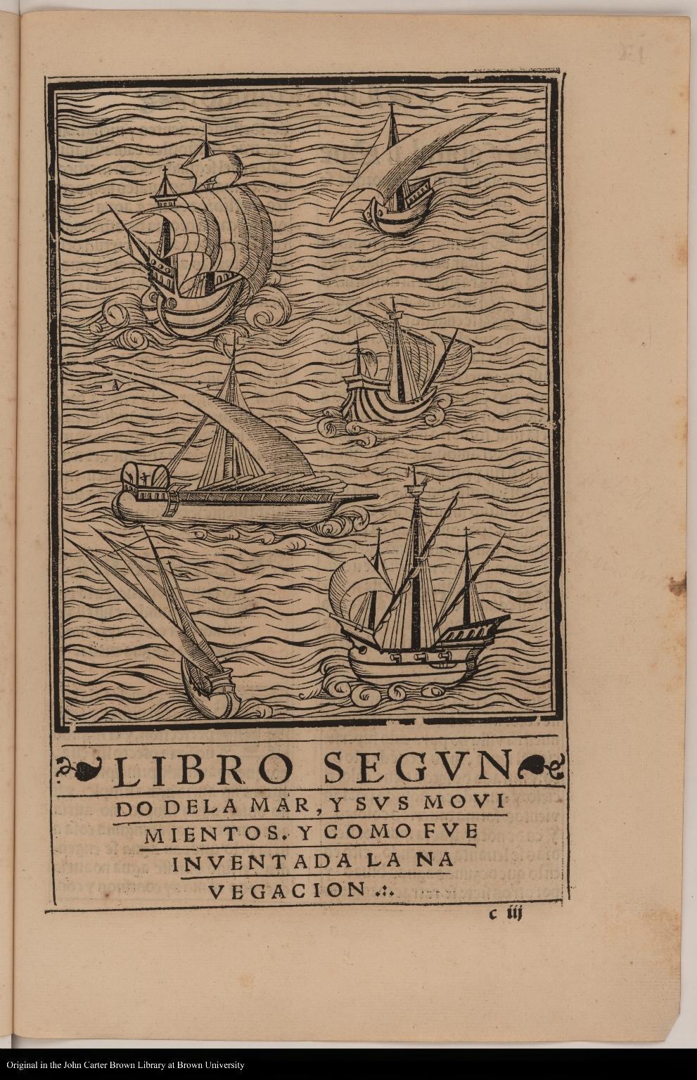 [Six sailing ships]
