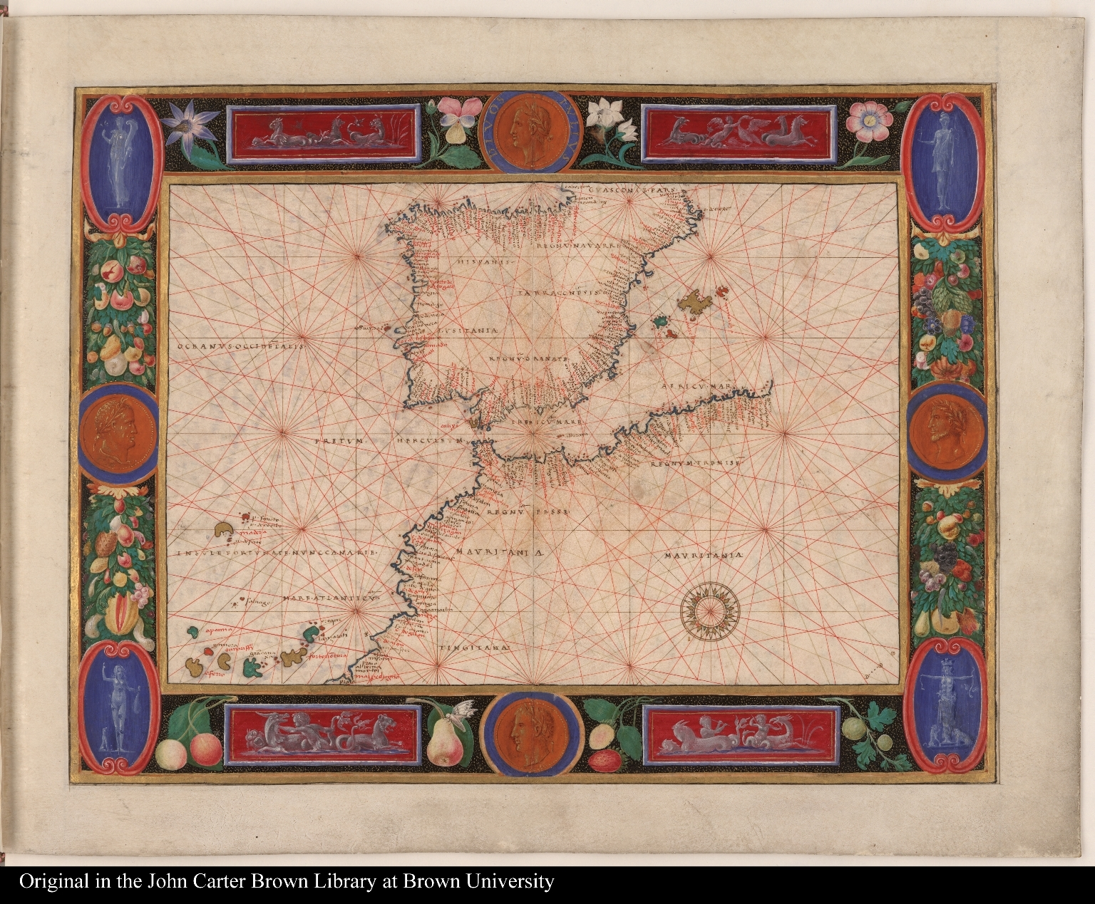 [Map of Spain, Portugal, and northern Africa]