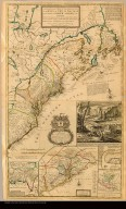 A new and exact map of the dominions of the King of Great Britain on ye Continent of North America containing Newfoundland, New Scotland, New England, New York, New Jersey, Pensilvania, Maryland, Virginia and Carolina ... by Herman Moll geographer