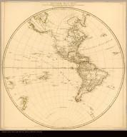 Westliche Halb Kugel verfasst von Herrn D'Anville, Geographen des Königs von Frankreich, nach den neüesten Entdeckungen Verbessert herausgegeben ; von Herrn, F.A. Schrämbl
