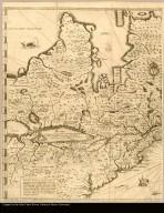 Carte de la Nouvelle-France, augmentée depuis la derniere, servant à la navigation faicte de son vray meridien par le Sr. de Champlain Capitaine pour le Roy en la Marine