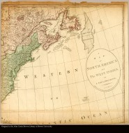 [Map of northeastern coast of North America]