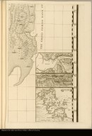 [George's Banks off of Newfoundland with 3 insets: the harbors at Placentia, Annapolis Royal, and Boston]