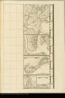 [Insets of the harbors of New York, Charleston, S.C., Saint Augustine, Florida, and Providence, Bermuda, along with a map of Bermuda]