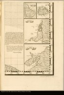 [Inset maps of Barbados, Antiqua, the harbors of Cartagena and Porto Bello]