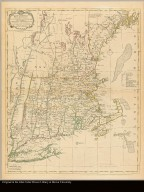 A map of the most inhabited part of New England, containing the provinces of Massachusets Bay and New Hampshire, with the colonies of Conecticut and Rhode Island divided into counties and townships. The whole composed from actual surveys and its situation adjusted by astronomical observations