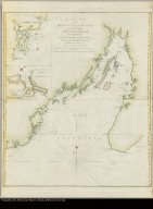 A chart of the Bay of Placentia, on the south coast of Newfoundland surveyed by order of Commodore Shuldham, Governor of Newfoundland, Labradore, &c. By Mich: Lane, 1772