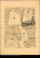 Chart of Chibucto Harbour, on the coast of Accadia, or Nova Scotia, with the plan of the Town of Halifax ... Carte du Havre de Chibucto ...