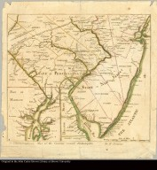 A chorographical map of the country round Philadelphia by B-Romans