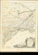 Carte du théatre de la guerre actuel entre les Anglais et les treize colonies unies de l'Amérique Septentrionale dressée par J.B. Eliot, ingénieurs des Etats Unis, 1778