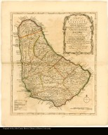 A Map of the Island of Barbados Drawn from an Actual Survey, and from the Observations of the Revd. Mr. Griffith Hughes, M.A.F.R.S. By Thoms Jefferys, Geographer