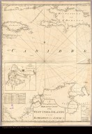 [Map of Hispaniola, Jamaica, Cuba, and the northern part of South America]