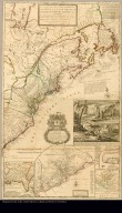 A new and exact map of the dominions of the King of Great Britain on ye continent of North America containing Newfoundland, New Scotland, New England, New York, New Jersey, Pensilvania, Maryland, Virginia and Carolina according to the newest and most exact observations by Herman Moll, geographer