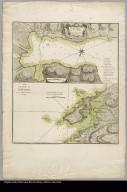 Plano de la bahía y ciudad de Portobelo conforme al que publicaron D. Jorge Juan y D. Antonió de Ulloa en su relación de la America Meridional