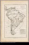 Amerique meridionale par M. Bonne, ingén[ieu]r hydrographe de la Marine