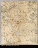 A new and correct chart shewing the variations of the compass in the Western & Southern Oceans as observed in ye year 1700 by his Ma:ties command by Edm. Halley