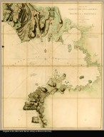 Plan of the harbour, fort, town and environs of Fort Royal in Martinique Drawn by Lieutt. William Booth, Royl. Engrs