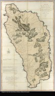 Plan of the island of Dominica laid down by actual survey under the direction of the honorable the commissioners for the sale of lands in the ceded islands by John Byres chief surveyor 1776