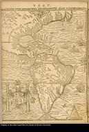 Peru. Brevis Exactaque Totius Novi Orbis Eivsque Insvlarvm Descriptio Recens A Ioan Bellero Edit
