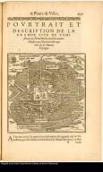 Pourtrait et description de la grande cite de Temistitan, ou, Tenuchtutlan, ou selon aucuns Messico, ou, Mexico, ville capitale de la Nueva Espaigne.